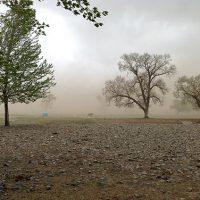 Duststorm, Ulaanbaatar