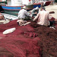 Mending the nets 2