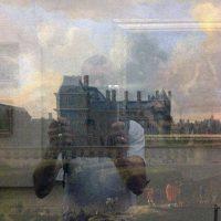 Moi au Louvre